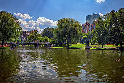 Boston Public Garden by Rick Berk