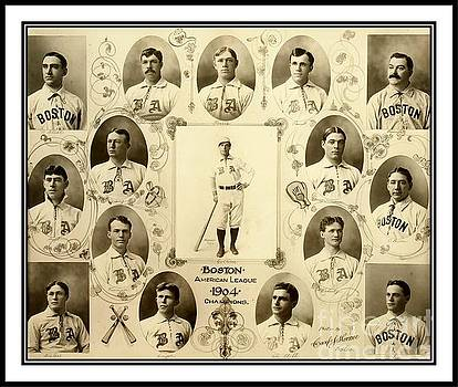 Peter Gumaer Ogden Collection - Boston Red Sox a k a Boston Americans 1904