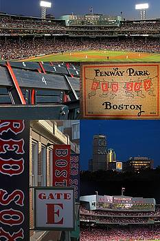 Juergen Roth - Boston Red Sox and Fenway Park Collage
