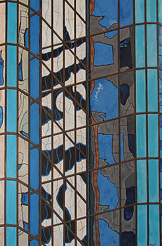 Boston Reflection by Steven Fleit