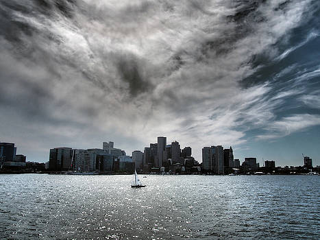 Boston Sky and Skyline by Kevin Felts