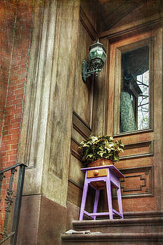 Boston South End Doorways by Joann Vitali