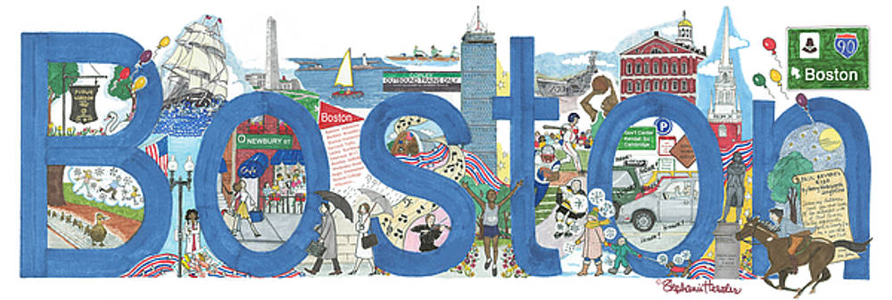 Boston by Stephanie Hessler