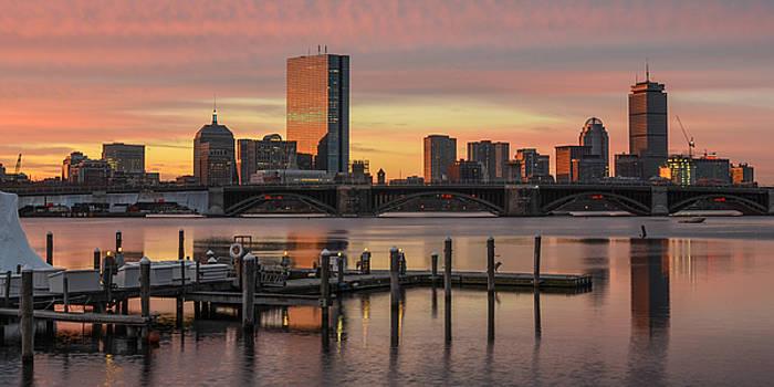 Boston Sunrise from Science Park by Matthew MacPherson