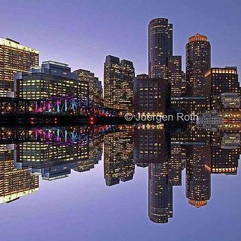 Boston Waterfront - by Juergen Roth