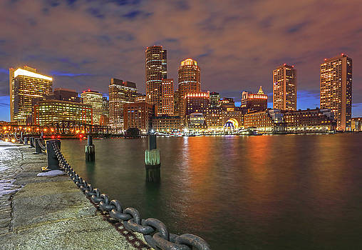 Boston Waterfront District by Juergen Roth