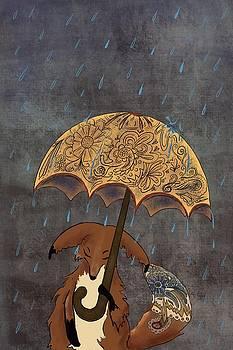 Boswell in the Rain by Amy Altstatt