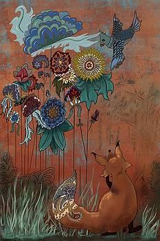 Boswells garden  by Amy Altstatt