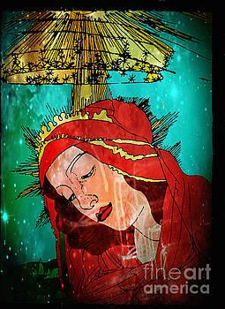 Genevieve Esson - Botticelli Madonna In Space