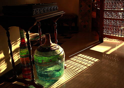 Bottle and Light by Murtaza Humayun Saeed