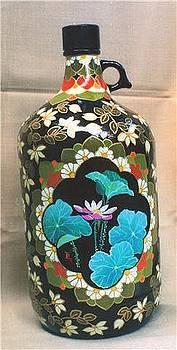 Bottle Art 4 by Yuki Othsuka