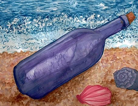 Bottle by Jeanette Lindblad