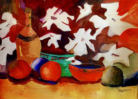 Bottle of Wine by Carole Johnson