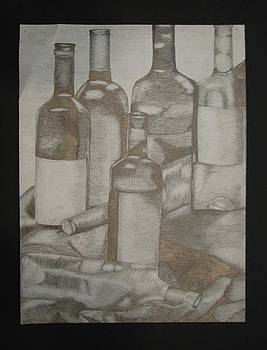 Bottle Still Life by Jamie Wilke