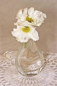 Sandra Foster - Bottled Begonia Flowers