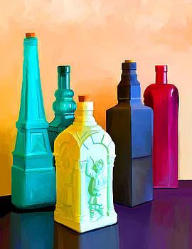 Bottles by Ata Alishahi