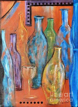 Bottles II by Karen Day-Vath