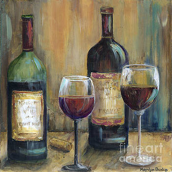 Bottles of Red by Marilyn Dunlap