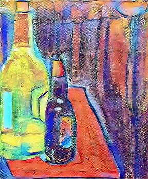 Paulo Guimaraes - Bottles-Still Life