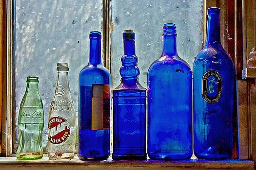 Bottles by Suzanne Stout