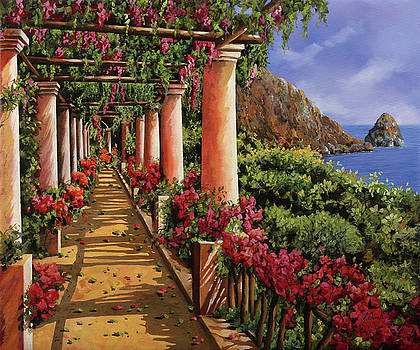Bouganville Sul Golfo by Guido Borelli