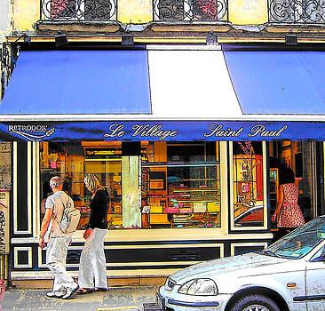 Jan Matson - Boulangerie Le Village Saint Paul Paris