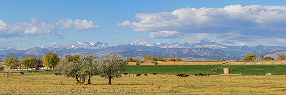 Boulder County Front Range Panorama View by James BO Insogna