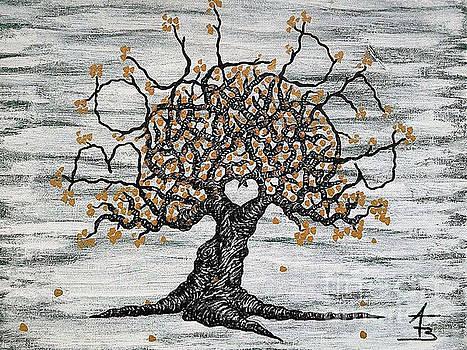 Boulder Love Tree by Aaron Bombalicki