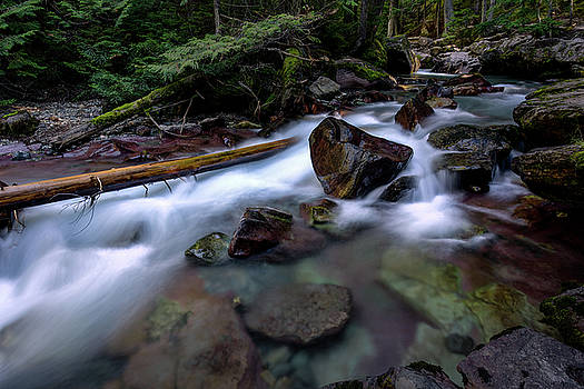 Rick Strobaugh - Boulders in Avalanche Creek