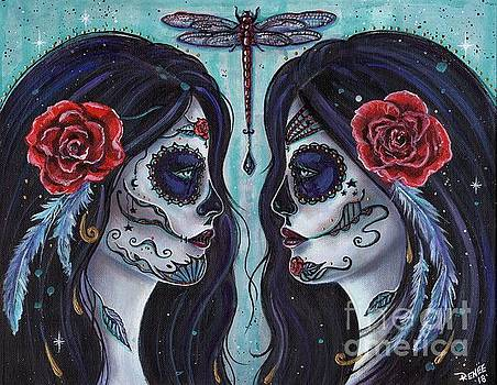 Bound for eternity day of the dead by Renee Lavoie