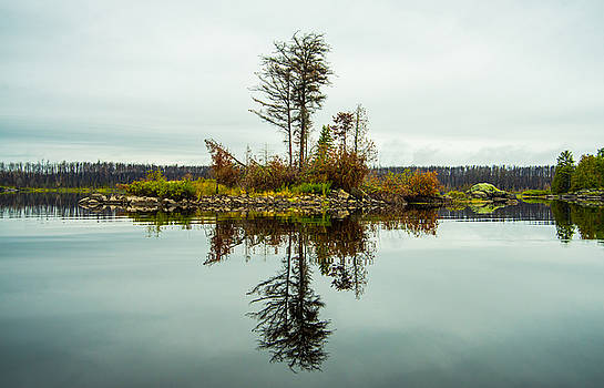 Boundary Waters Reflection by Christopher Broste
