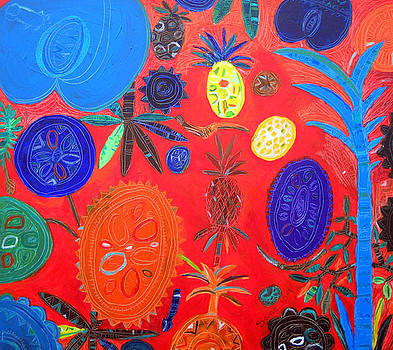 Bountiful harvest of fruit by Eria Nsubuga