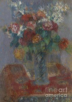 Camille Pissarro - Bouquet circa 1900 by Camille Pissarro