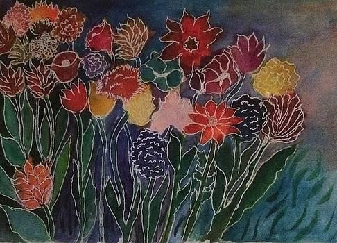 Bouquet Garden by Phyllis Hollenbeck