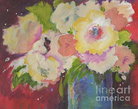 Bouquet Impression #5 by Sheila Golden