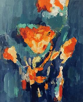Bouquet of Flowers by Carol Stanley