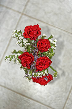 Bouquet of red roses by Adrian Bud