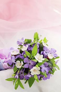bouquet of violets by Iuliia Malivanchuk by Iuliia Malivanchuk
