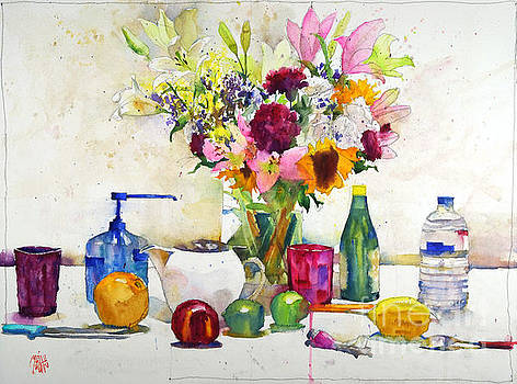 Bouquet with citrus by Andre MEHU
