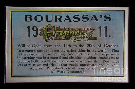Bourassa's Photographic Studio by Al Bourassa