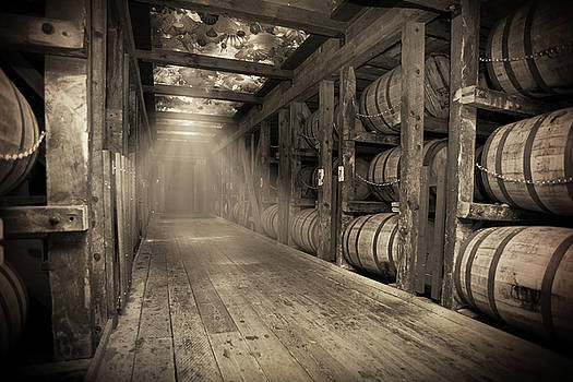Bourbon Barrels by Glass Glow by Karen Varnas