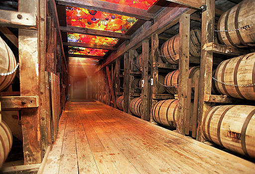 Bourbon by Glass Glow by Karen Varnas