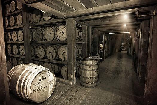 Bourbon Rickhouse by Karen Varnas