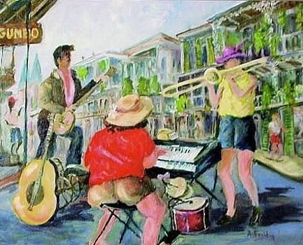 Bourbon Street  by Albert Fendig