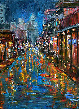 Bourbon Street Blues by Debra Hurd