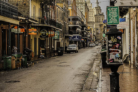 Chris Coffee - Bourbon Street by Day