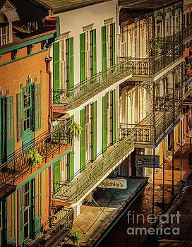 Kathleen K Parker - Bourbon Street Morning - Texture