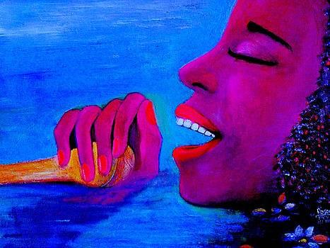 Bourbon Street Singer by Patricia Velasquez de Mera