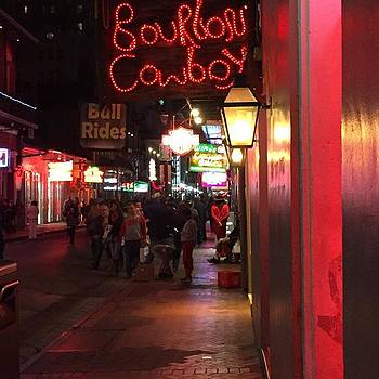 #bourboncowboy #neworleans #lousiana by Gin Young