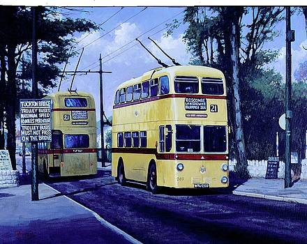 Bournemouth trolley-bus. by Mike Jeffries